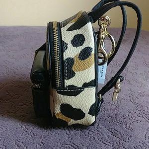 NWT Mini COACH Back Pack Keychain/Bag Embellisher